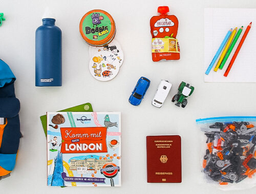 Checkliste Urlaub mit Kindern - das packen wir ein