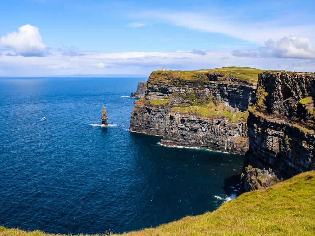 Cliffs of Moher - eins der Highlights auf unserer Rundreise mit der Familie durch Irland