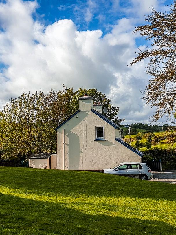 Typisches Cottage für die Familie in Irland