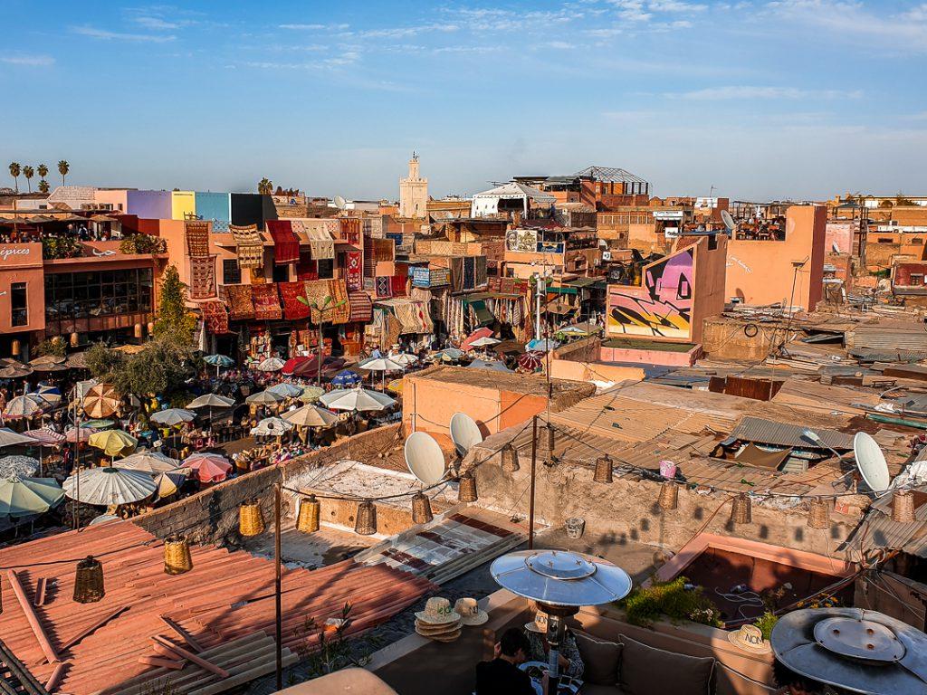 Über den Dächern von Marrakesh