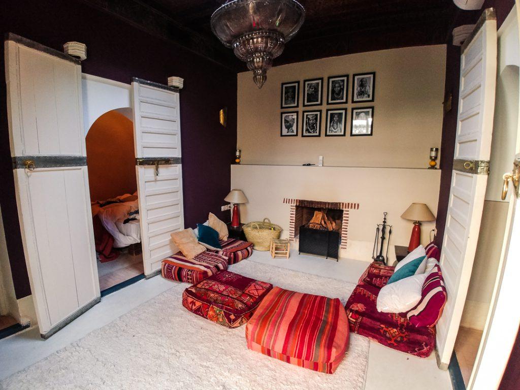 besondere Unterkunft - ein traditionelles Riad in Marrakesch