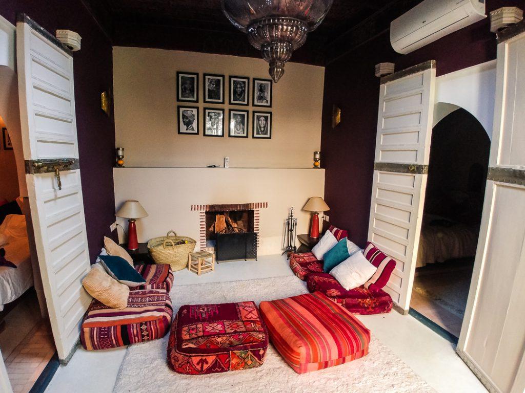 Familienzimmer im Riad - Marrakesch mit Kindern