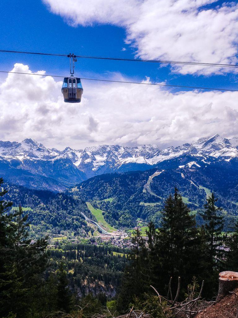 Alpenpanorama auf dem Wank