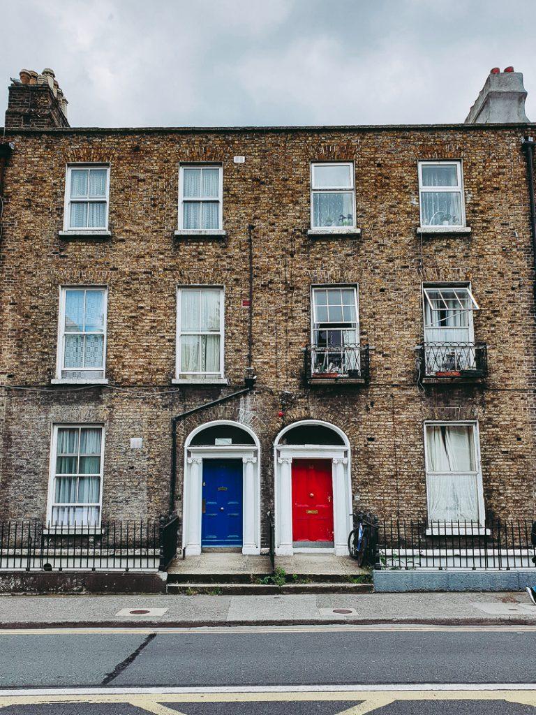 bunte Türen Dublin Irland