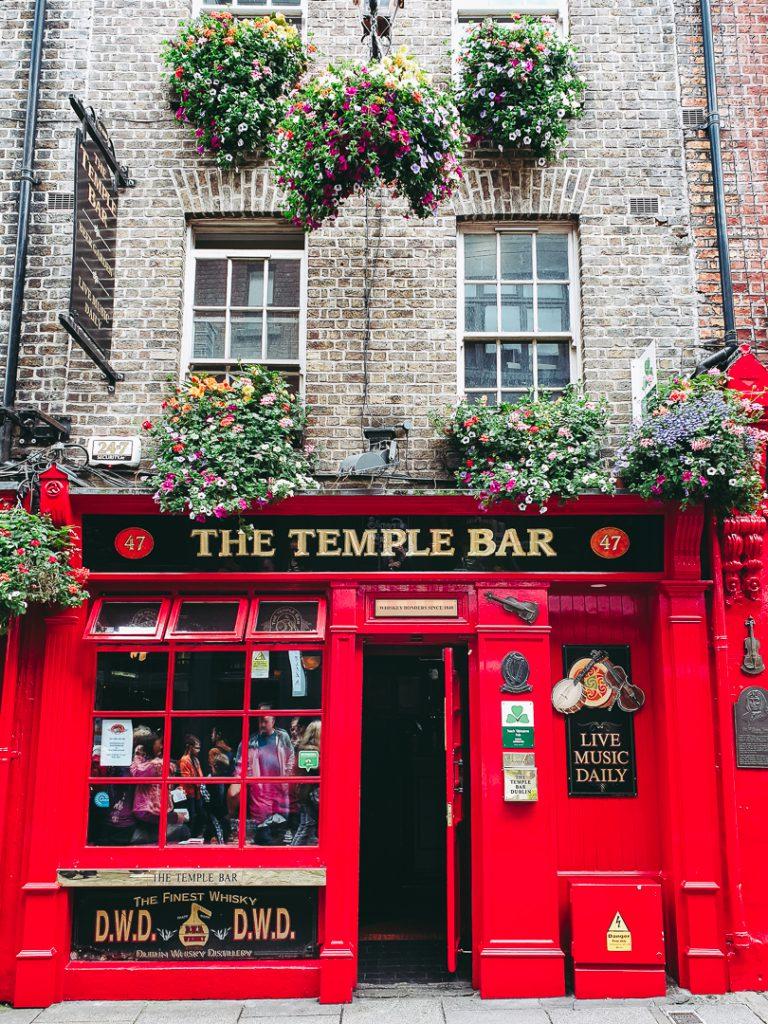 Temple Bar Dublin - spannend für die ganze Familie