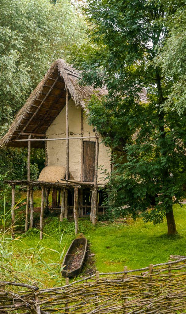 rekonstruierte Hütte
