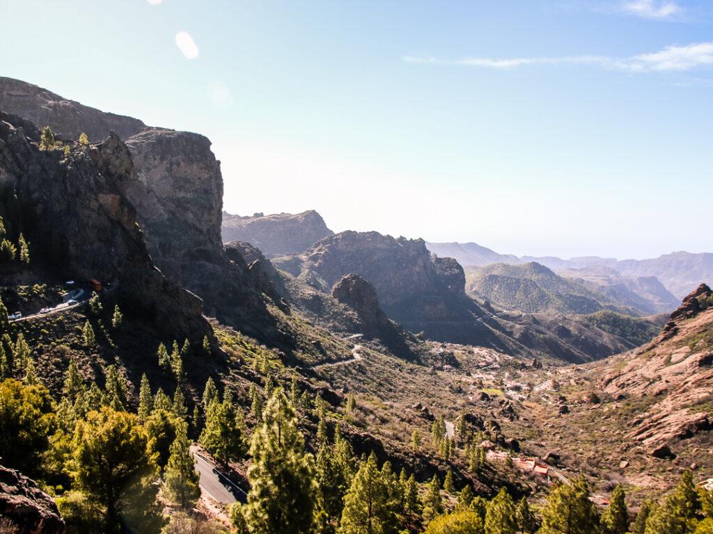 Die Aussicht am Roque Nublo