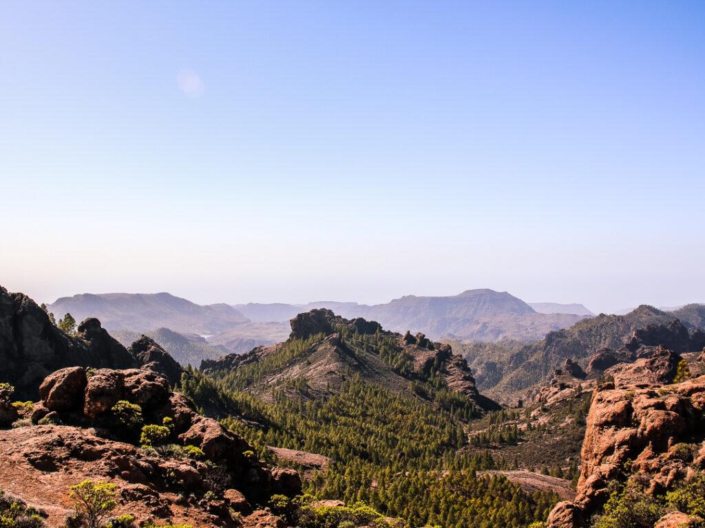 Vulkanische Landschaft auf Gran Canaria