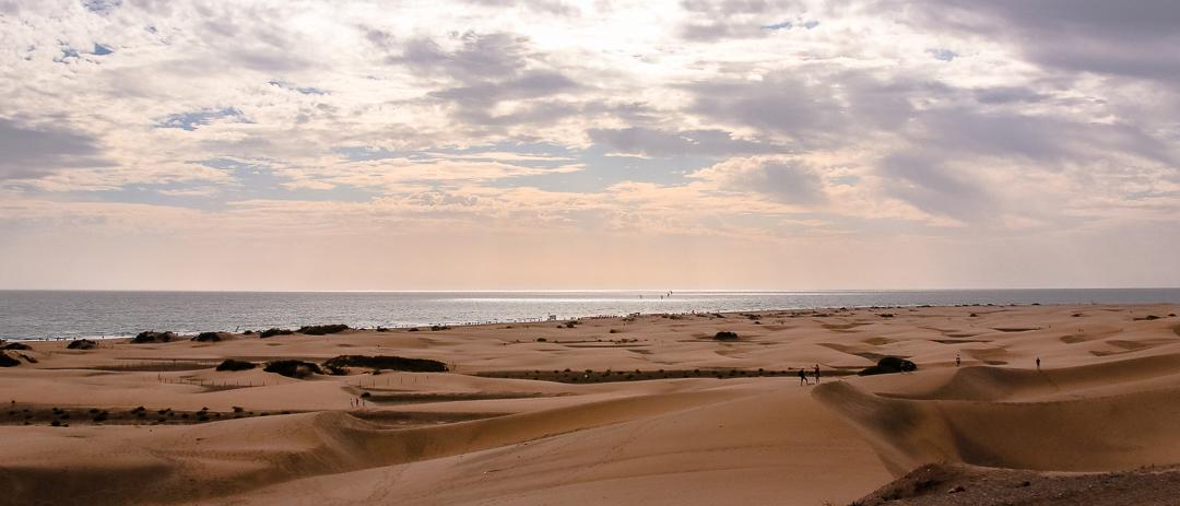 Ein Traum mit Kindern - Dünen auf Gran Canaria