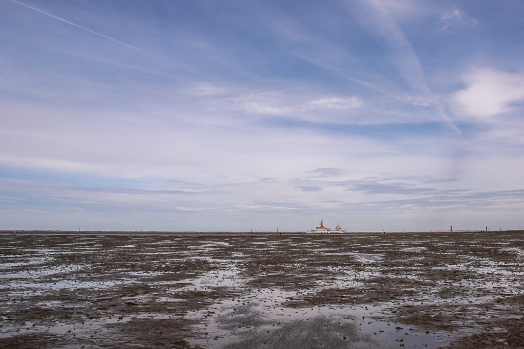 Das Wattenmeer - ein großer Spielplatz für Kinder