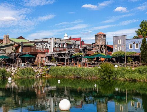 Park Camping - außergewöhliche Unterkünfte im Europa Park